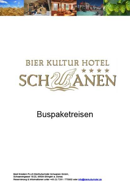 BierKulturHotel Hotelprospekte Busarrangements