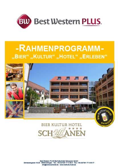 BierKulturHotel Hotelprospekte Rahmenprogramm